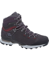 Hanwag Women's Tatra Light GTX Boot - 6 UK - Asphalt / Dark Garnet