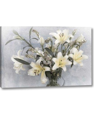 """Ophelia & Co. 'Mexico Flower Arrangement with Lilies' Photographic Print on Wrapped Canvas BF153327 Size: 11"""" H x 16"""" W x 1.5"""" D"""