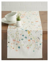 Amazing Deal On Union Rustic Gillman Cotton Table Runner Cotton In Ivory White Size 72 L X 16 W Wayfair F99aa712ad774dcca09654e495d85047