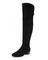 Joie Women's Reeve Over The Knee Boots, Black, 36 M EU