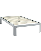 Shop Deals For Duarte Bed Frame Alwyn Home Size Twin Color White