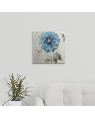 """'A Blue Note II' by Lisa Audit Graphic Art Print Great Big Canvas Size: 16"""" H x 16"""" W x 1.5"""" D, Format: Canvas"""
