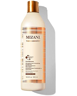 MIZANI Thermasmooth Anti-Frizz Conditioner | Conditions & Smooths Textured Hair | With Coconut Oil | For Dry Hair | 16.9 Fl. Oz.