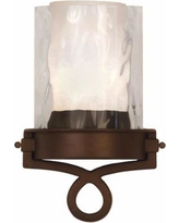 "Newport Collection Bronze 12 1/4"" High ADA Wall Sconce"