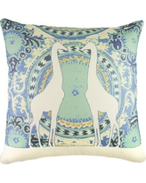 TheWatsonShop Giraffe Cotton Throw Pillow DFVLBOH2GIR