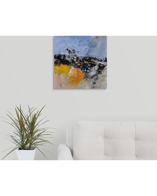 """GreatBigCanvas """"abstract 88411131"""" by Pol Ledent Canvas Wall Art, Multi-Color"""