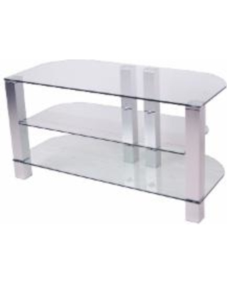New Deals On Design To Fit 42 Inch Clear Glass Plasma Tv Stand