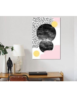 """East Urban Home 'Paloma' Graphic Art Print on Canvas EAOU1291 Size: 26"""" H x 18"""" W x 1.5"""" D"""