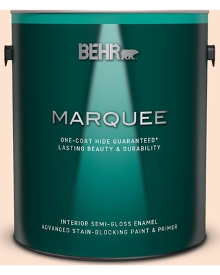 Here S A Great Deal On Behr Marquee 1 Gal 280c 1 Champagne Ice Semi Gloss Enamel Interior Paint Primer