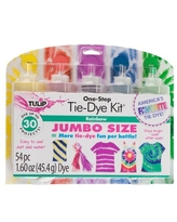 Tulip 5 Color One-Step Tie-Dye Kit Rainbow, Bright Colors