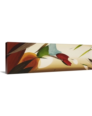 """GreatBigCanvas 60 in. x 20 in. """"Fall Collection I"""" by Lola Abellan Canvas Wall Art, Multi-Color"""
