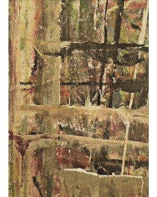 East Urban Home Anand Light Green/Beige Area Rug X113244357 Rug Size: Rectangle 3' x 5'