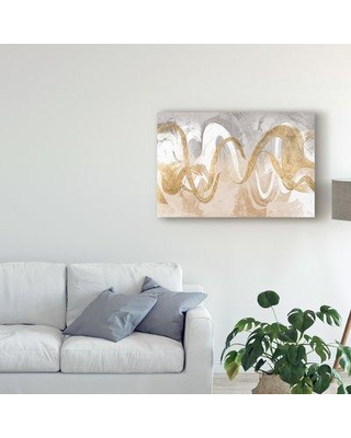 """Mercer41 'Infinite Swirl I' Acrylic Painting Print on Wrapped Canvas W000214949 Size: 30"""" H x 47"""" W 2"""" D"""