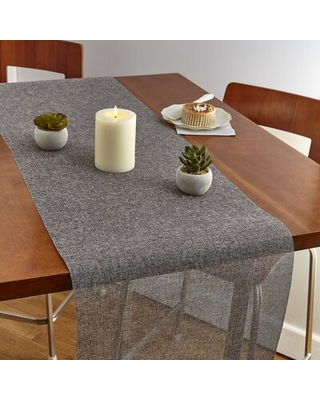 Boucher Weaved Table Runner The Party Aisle™ Case Pack Quantity: 12, Color: Gray