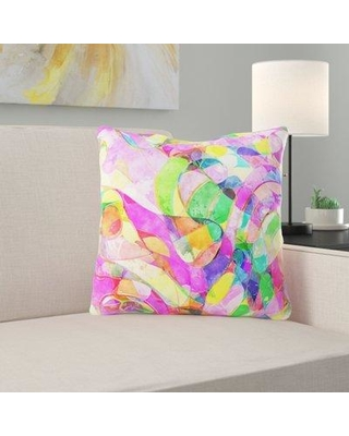 Ebern Designs Polak Seamless Throw Pillow W001294813 Cover Material: Microsuede Location: Indoor