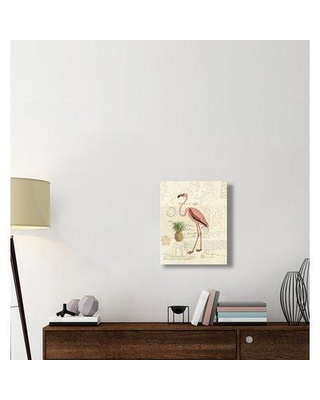 """East Urban Home 'Floridian IV' Graphic Art Print on Canvas ERBR1826 Size: 24"""" H x 20"""" W x 1.5"""" D"""