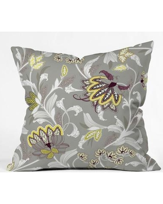 """East Urban Home Polyester Throw Pillow EHME8961 Size: 26"""" H x 26"""" W x 7"""" D"""