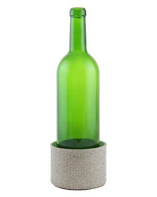 Everly Quinn Surface Protector Metal Decorated Wine Bottle Coaster FZRO2541