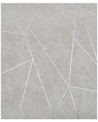 """York Wallcoverings Nazca 32.8' L x 20.8"""" W Metallic/Foiled Wallpaper Roll NW350 Color: Light Gray/Silver"""
