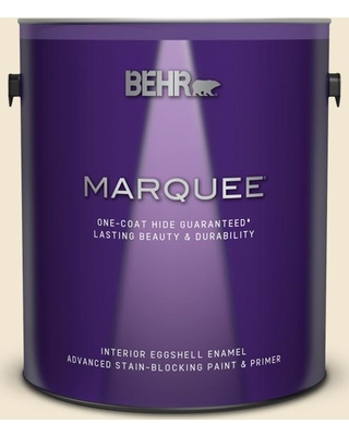 BEHR MARQUEE 1 gal. #BWC-09 Atlantis Pearl Eggshell Enamel Interior Paint and Primer in One