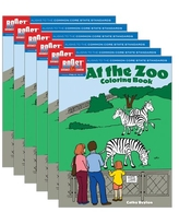 Boost At The Zoo Coloring Book PK-K, Pack of 6