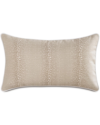 Amazing Deal On Evie Fawn 13x22 Outdoor Lumbar Pillow Brown White