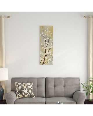 """'Balance I' By Asia Jensen Graphic Art Print on Wrapped Canvas East Urban Home Size: 36"""" H x 12"""" W x 0.75"""" D"""
