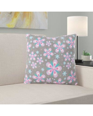 East Urban Home Seamless Pattern Throw Pillow W000079842 Location: Indoor