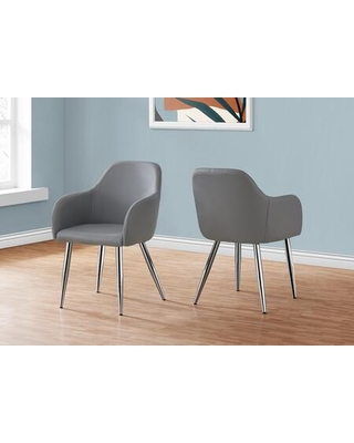 I 1192 Set of 2 Dining Chair in Gray