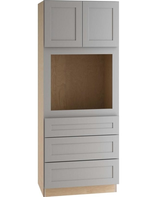2a38c7f2d435 Home Decorators Collection Tremont Assembled 33 x 84 x 24 in. Pantry/Utility  Cabinet