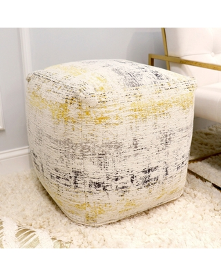 The Curated Nomad Hampshire Ottoman Pouf