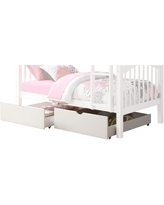 Acme Furniture Heartland White Twin over Twin Bunk Bed (Bed Only)