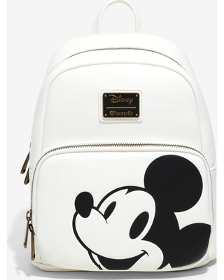 0d9a12728f0 Loungefly Disney Mickey Mouse Minimal Mini Backpack - BoxLunch Exclusive
