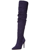Jessica Simpson Women's Ladee Fashion Boot, SGT Navy, 5.5 M US