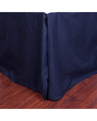 """Microfiber 1500 Egyptian Quality Pleated Bed Skirt with 14"""" Drop"""