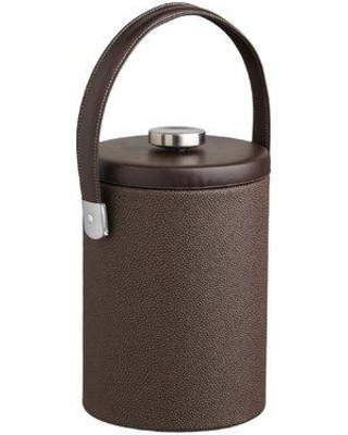 Charlton Home Keesler Ice Bucket with Thick Flat Lid CHRH4673 Size: 2-qt. Color: Mocha