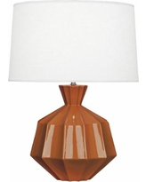 Robert Abbey Orion Cinnamon Ceramic Table Lamp