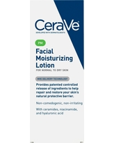CeraVe PM Facial Moisturizing Lotion for Nighttime Use, Ultra Lightweight Night Cream - 3 fl oz