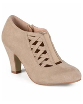 Journee Collection Women's Piper Bootie - Taupe