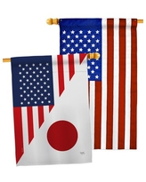 Deals For Impressions Decorative Usa Applique 2 Sided Polyester 40 X 28 In House Flag Breeze Decor
