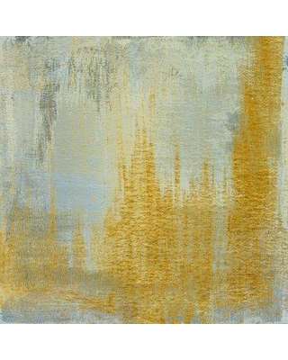"""Marmont Hill 'Analog X' by Sia Aryai Painting Print on Wrapped Canvas ET-MWW-SA-6030-C- Size: 18"""" H x 18"""" W"""