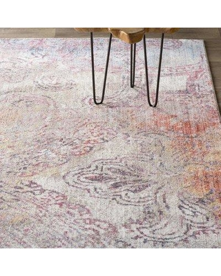 Trent Austin Design Foresta Red/Yellow Area Rug TRNT3164 Rug Size: Rectangle 8' x 10'
