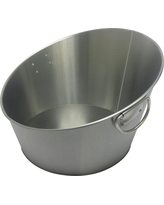 Stainless Steel Angled Beverage Tub - Threshold, Light Silver
