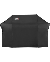 Weber Summit 600 Series Grill Cover with Storage Bag, Black