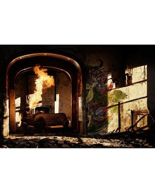"""East Urban Home 'Cosy' Photographic Print on Canvas URHE1353 Size: 12"""" H x 18"""" W x 1.5"""" D"""