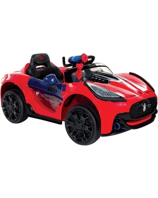 Great Deal On Spider Man Super Car 6 Volt Battery Powered Ride On