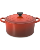Le Creuset Signature Cast-Iron Round Dutch Oven, 3 1/2-Qt., Red