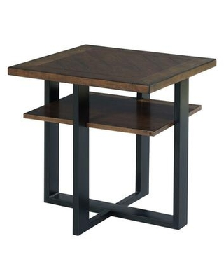 Franklin Collection 529-917 Rectangular Accent Table in Warm Cherry and Dark