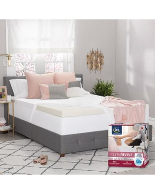 Spectacular Savings On Serta Rest Amp Revive 3 Inch Luracor