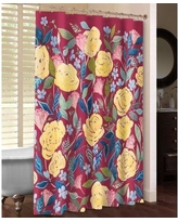 LauralHome Unbound Blossoms Shower Curtain UB74SC